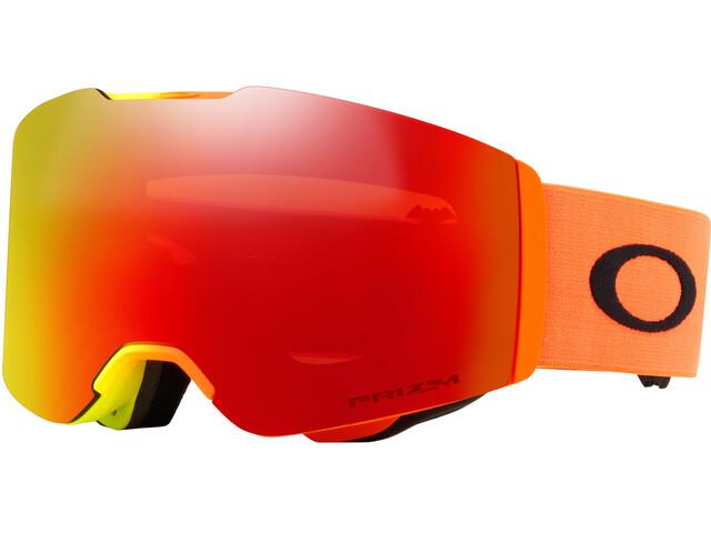 Oakley Fall Line Gogle pomarańczowy/czerwony